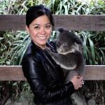 Cuddling Koalas at Gorge Wildlife Park, Adelaide
