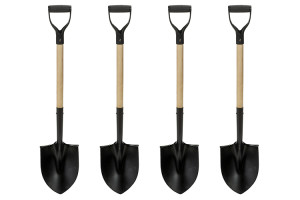 4 Shovels