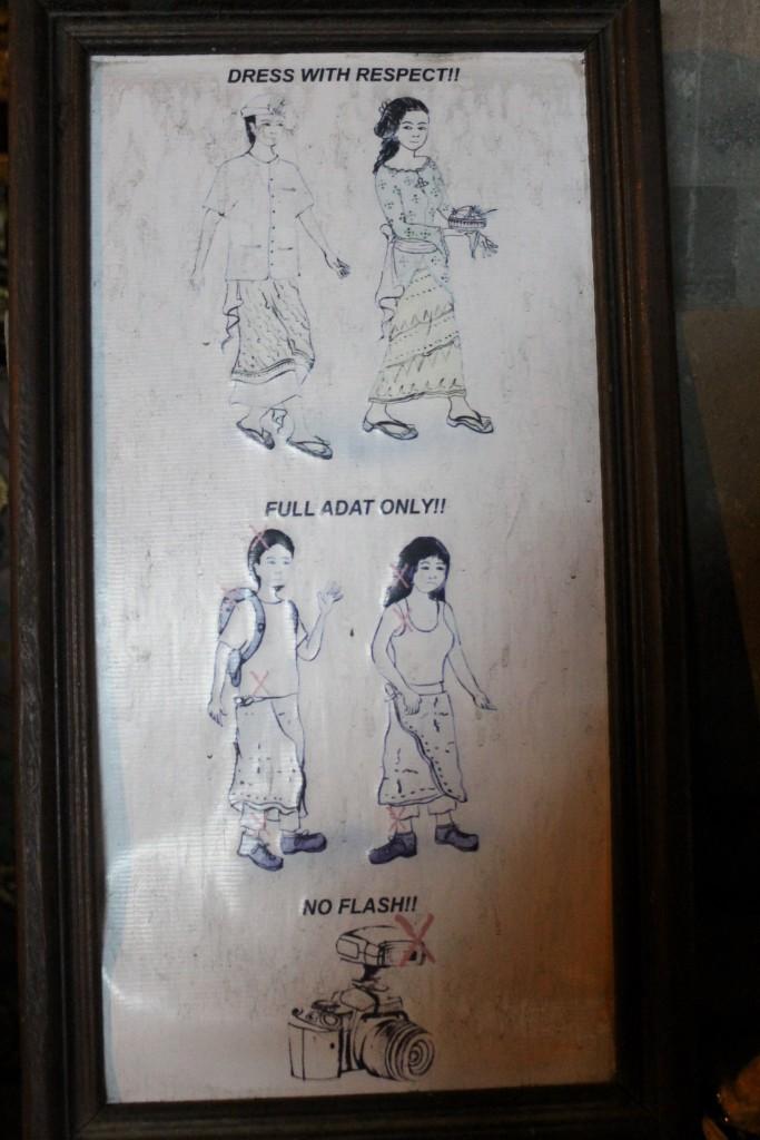 Full Adat Attire Ubud Bali