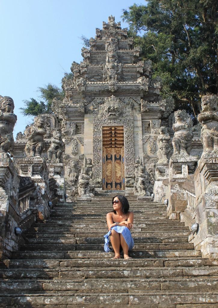 Gate Pura Kehen Temple Ubud Bali