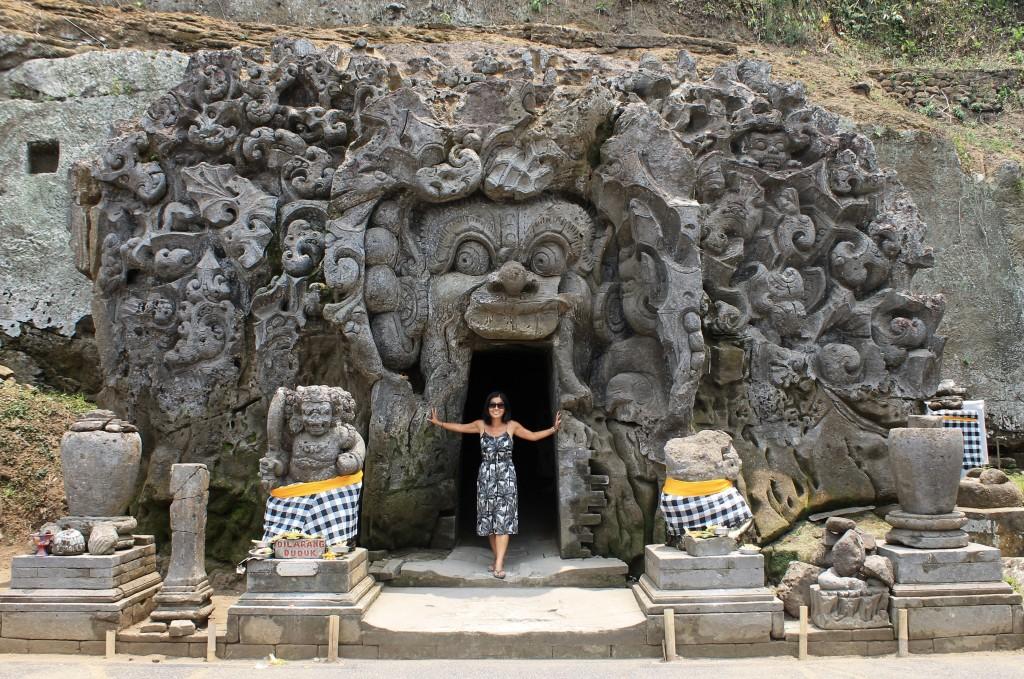Goa Gajah Elephant Cave Entrance Ubud Bali