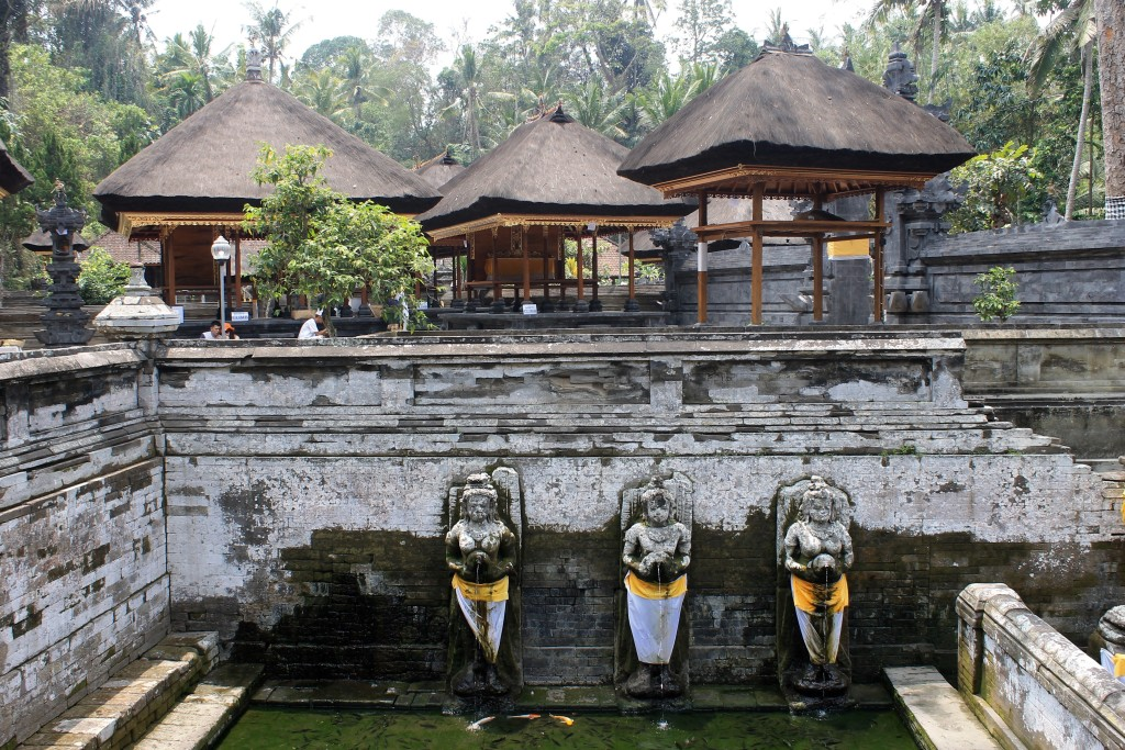 Goa Gajah Elephant Cave Pool Ubud Bali