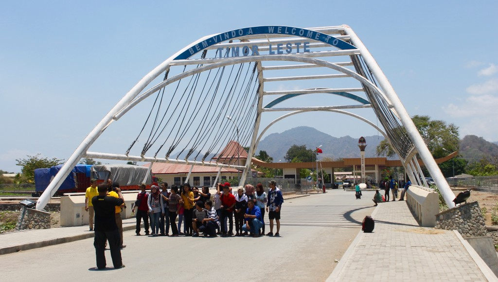 Indonesia/East Timor border crossing