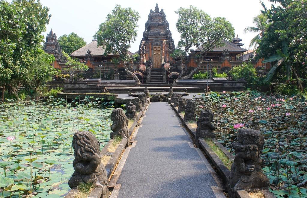 Saraswati Temple Water Palace Ubud Bali