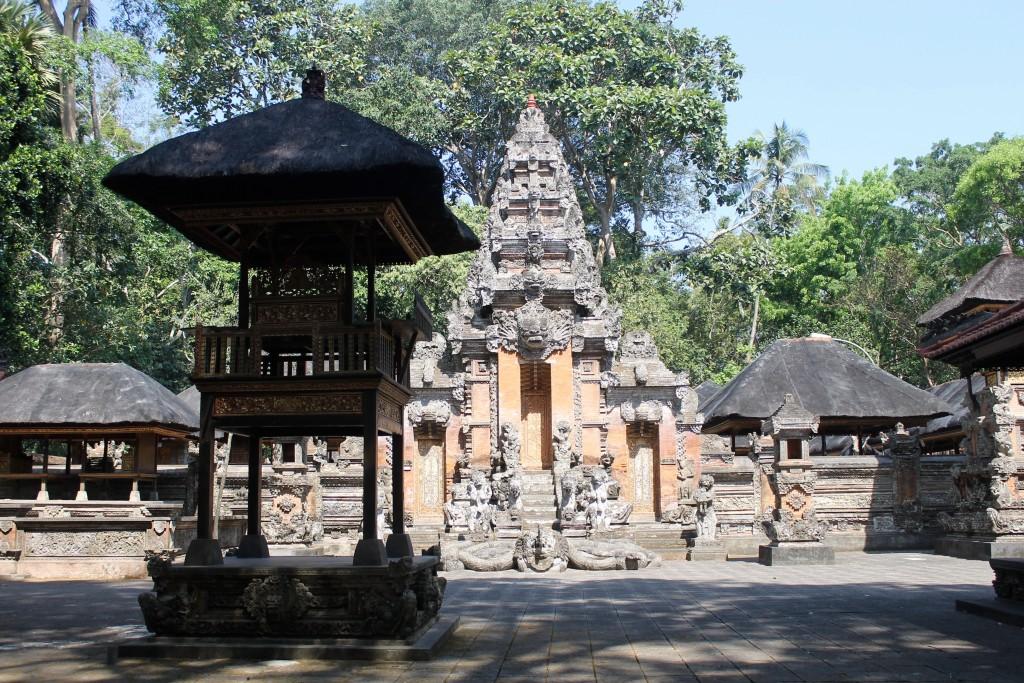 Temples Monkey Forest Ubud Bali