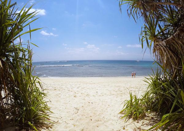 Secret Mushroom Beach Nusa Lembongan