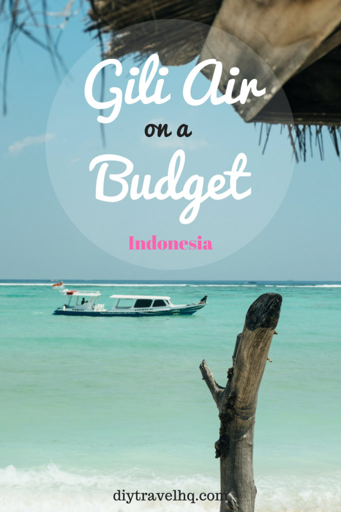 Looking for things to do in Gili Air, Lombok? Check out the best Gili Air destinations and food along with where to stay on Gili Air #giliair #gili #lombok #indonesia #diytravel