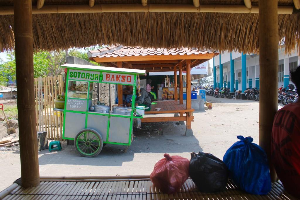 Bakso Bangsal Harbor Gili Islands Lombok