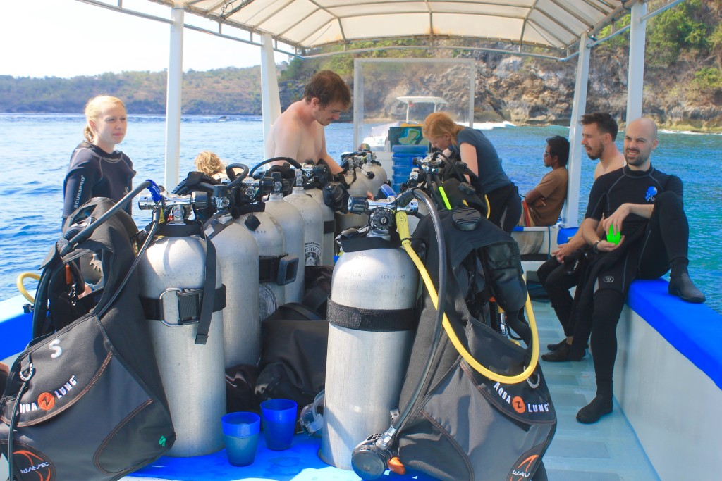 Nusa Lembongan diving