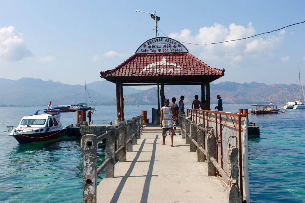 Harbor Gili Air Island Lombok