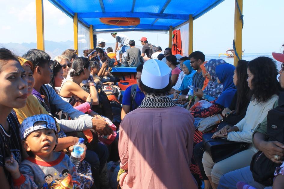 Slow Boat Gili Islands Lombok
