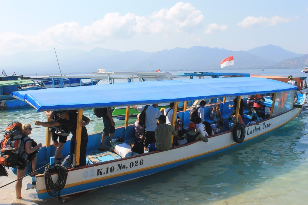Slow Boat Gili Islands Lombok