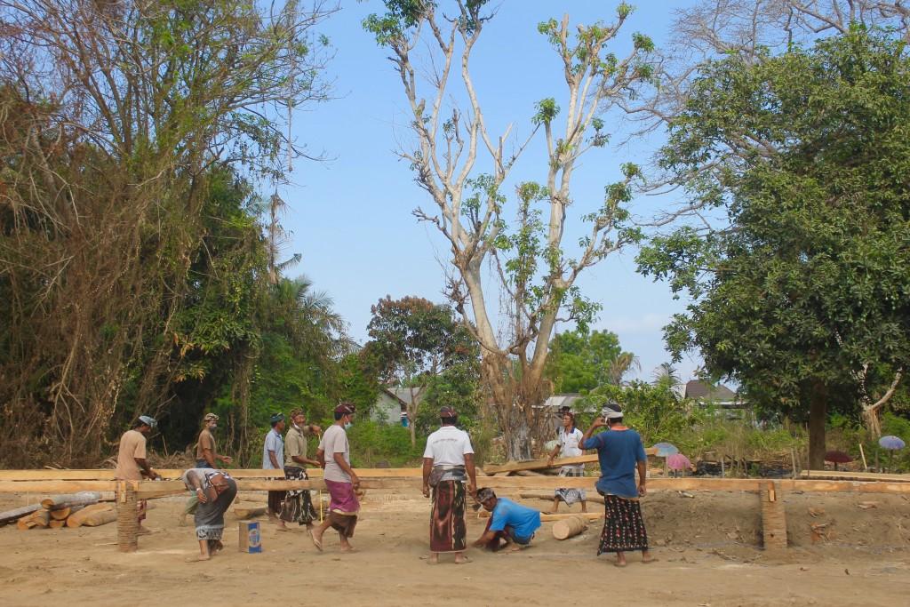 Local Village Life Nusa Lembongan Bali