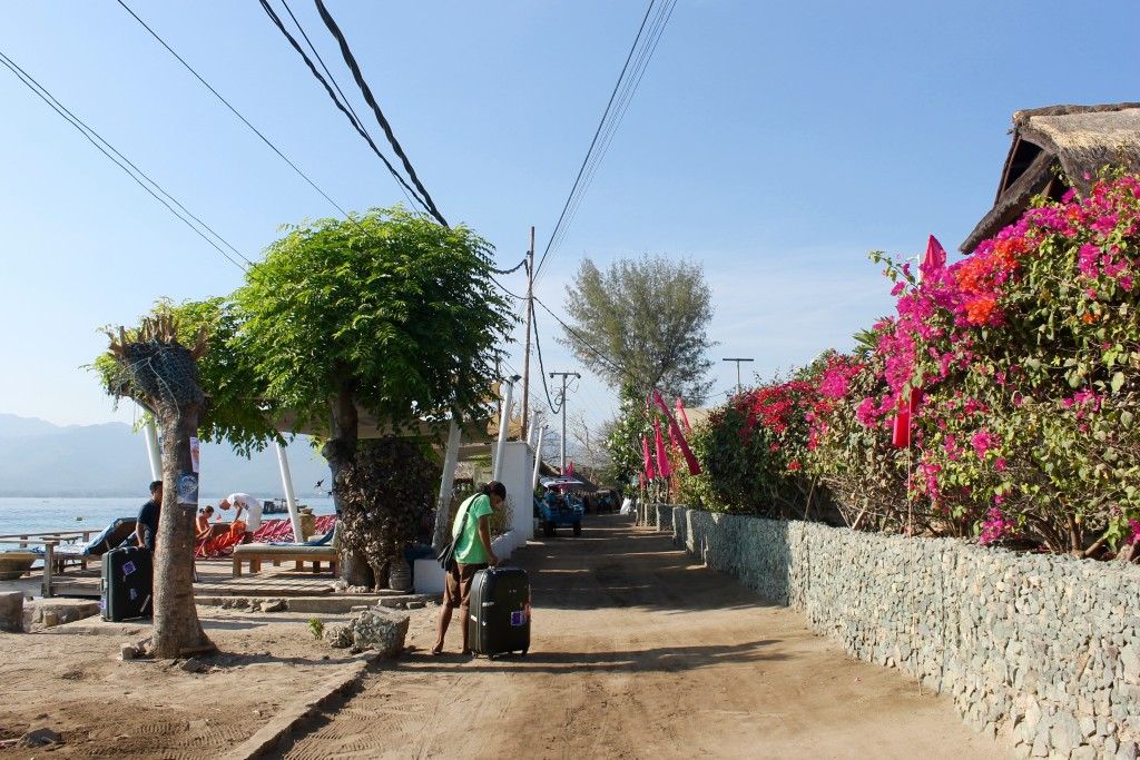 Main Street Gili Air Lombok