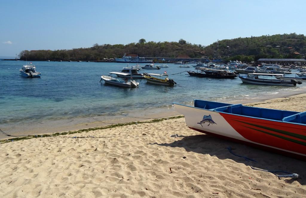 Padang Bai Harbor