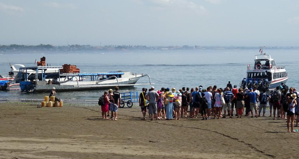 Sanur Boat Departure