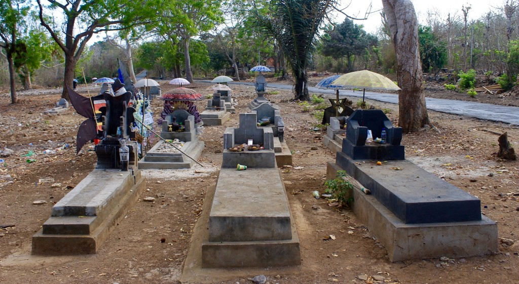 Umbrella Cemetery Nusa Lembongan Bali