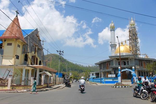 Downtown Bajawa Flores Island