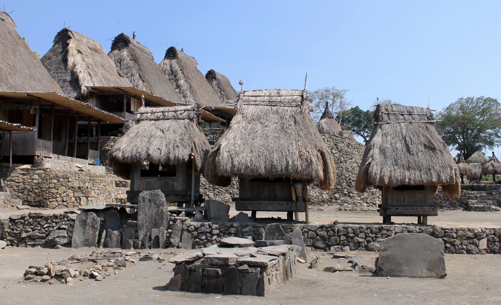 Indonesian Village of Bena