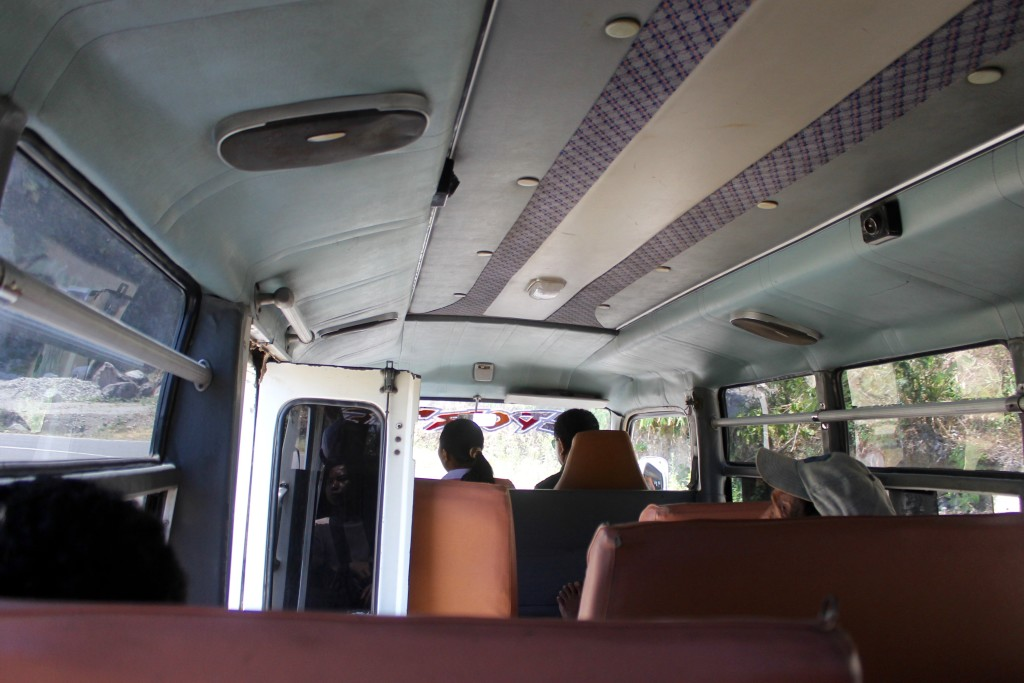 Inside Labuan Bajo Ruten Bus