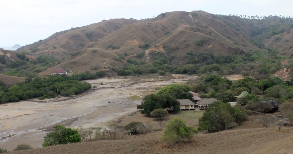Komodo Rinca Island Landsape