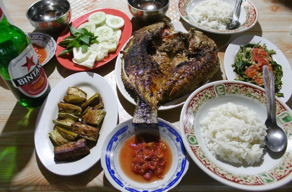 Labuan Bajo Seafood Dinner