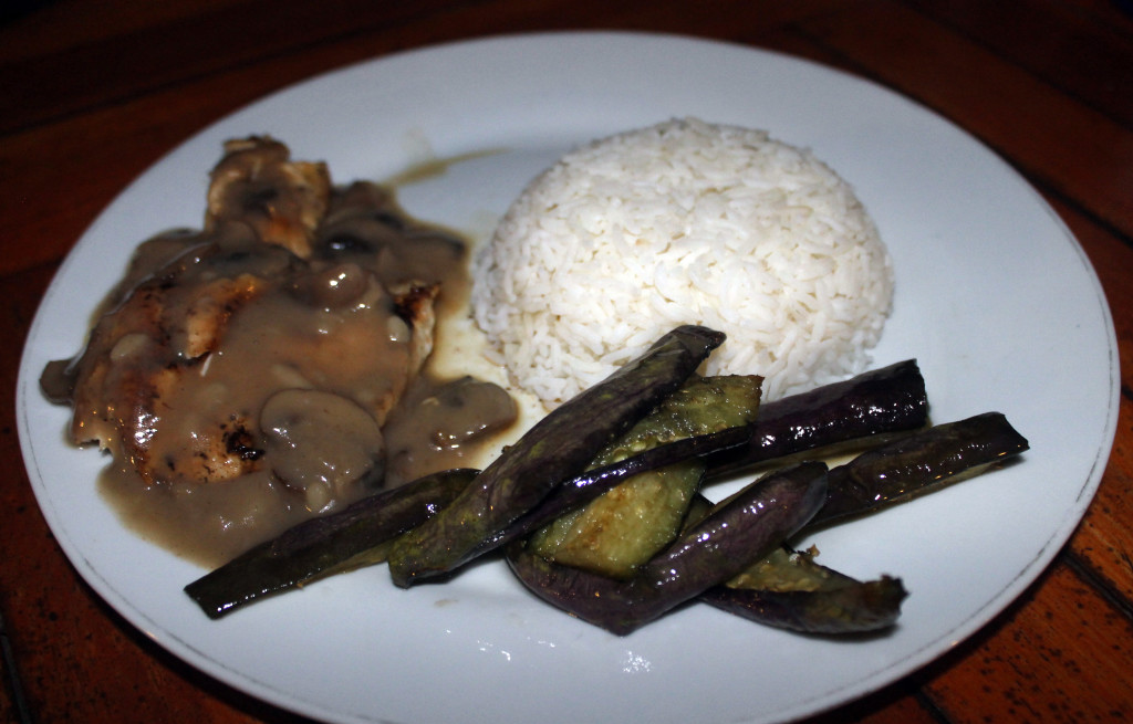 Chicken & Mushrooms Nusa Lembongan Restaurant