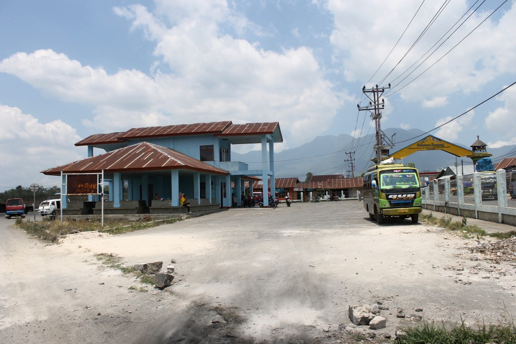 Bus Terminal at Ruteng