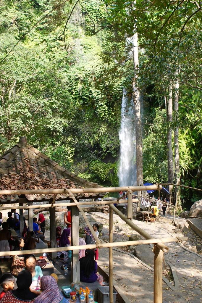 Senaru Waterfalls Sendang Gile
