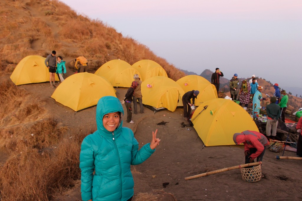 Base Camp Tents Mt Rinjani