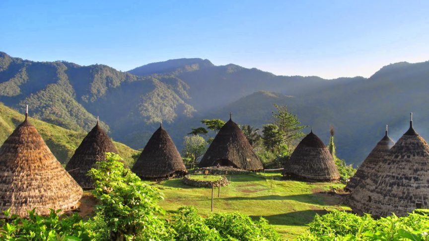 Seven Traditional Houses of Wae Rebo