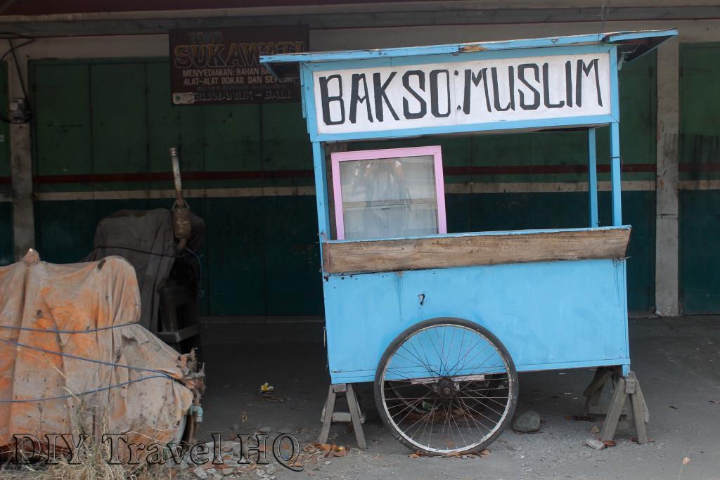 Eat Muslim Bakso in Banyuwangi