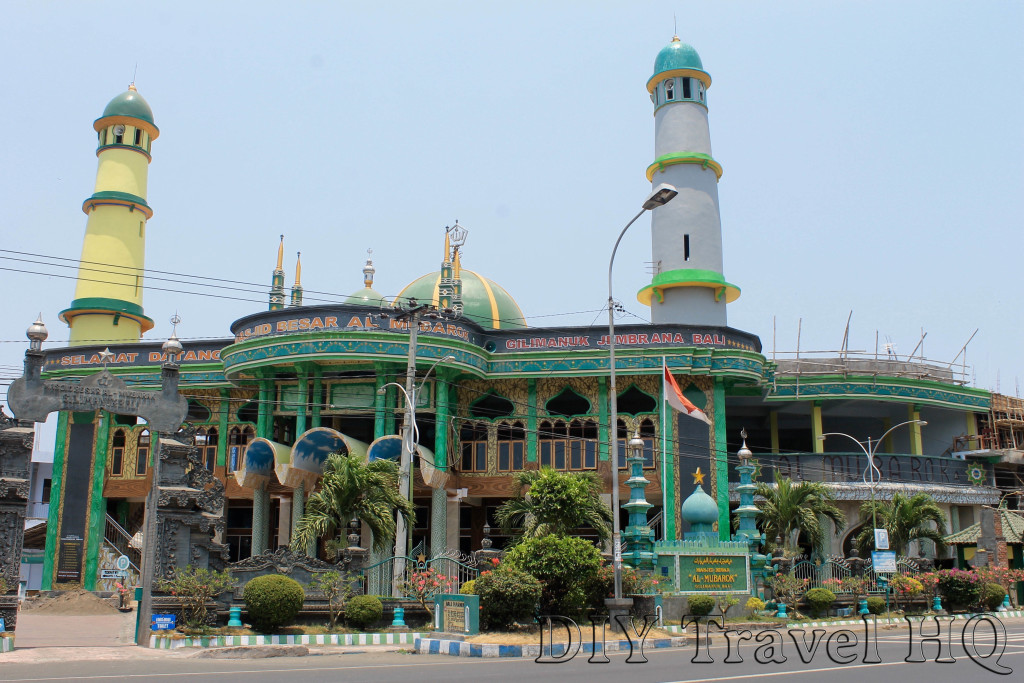 New mosque in Gilimanuk