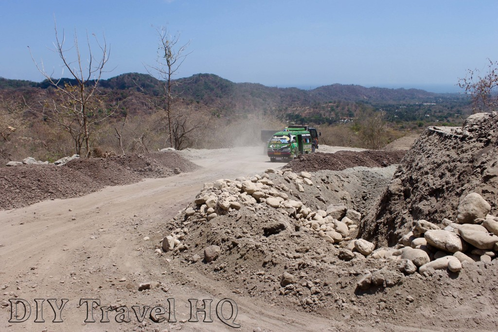Bumpy road to East Timor border