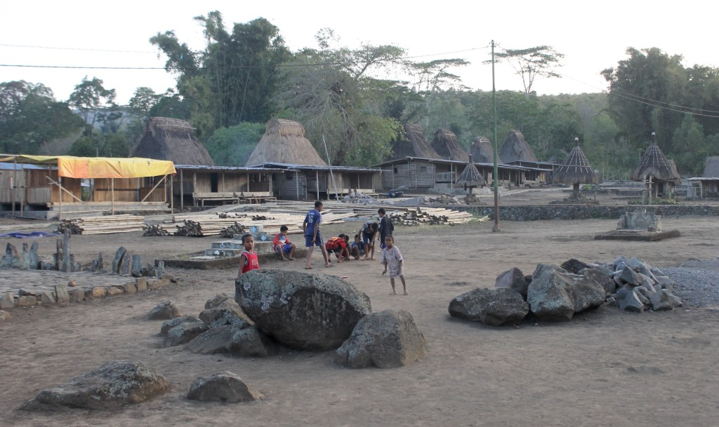 Children Playing Wogo Village