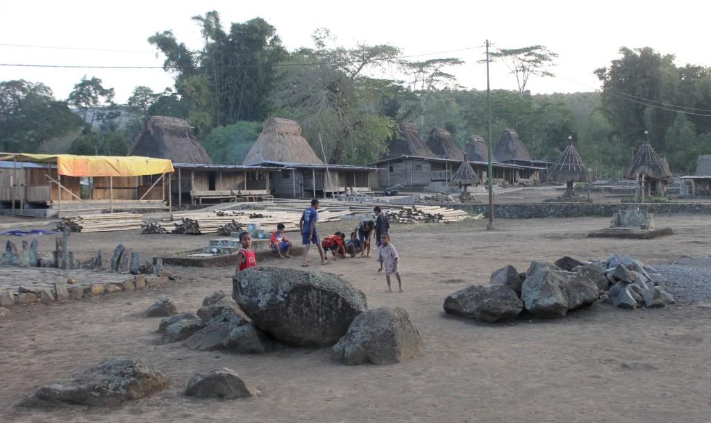 Children Playing Wogo Village