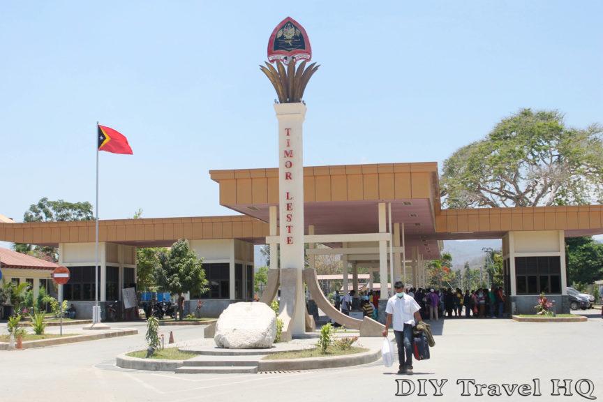 East Timor Border Crossing