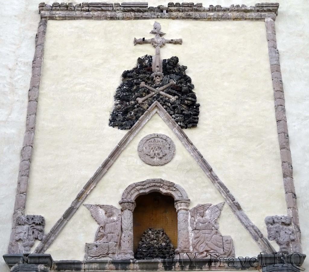 Cuernavaca The Assumption of Maria Cathedral Entrance