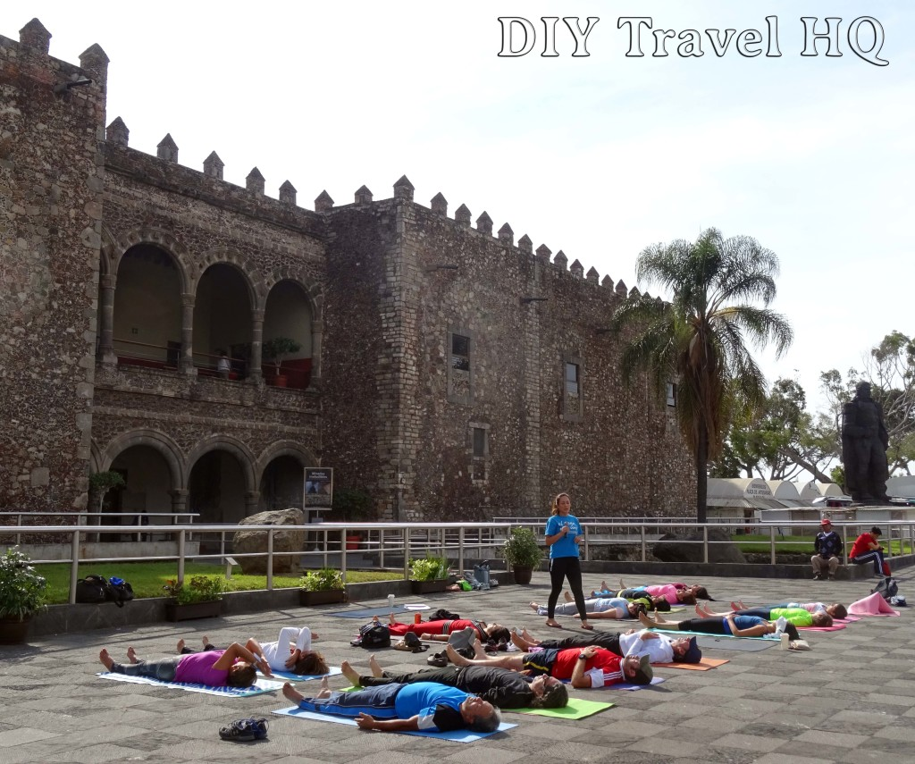 Cuernavaca Yoga at Cortes' Palace