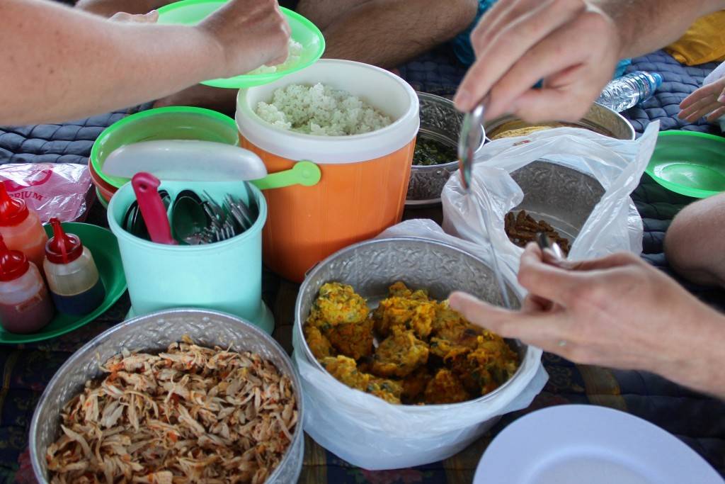 Lunch on Dive Komodo Paradise