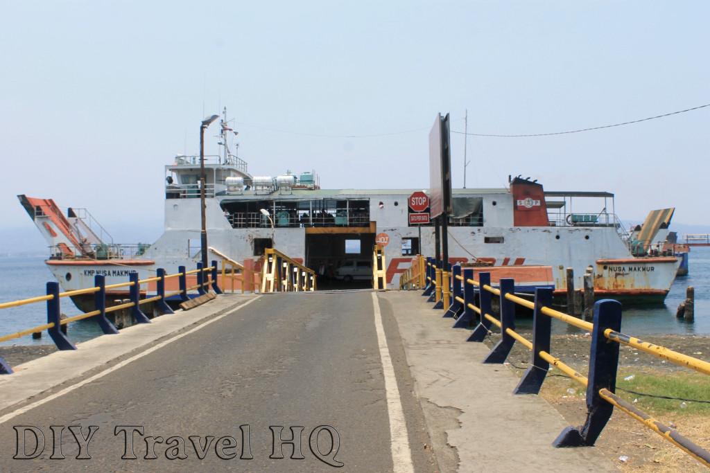 Ferry from Gilimanuk to Banyuwangi