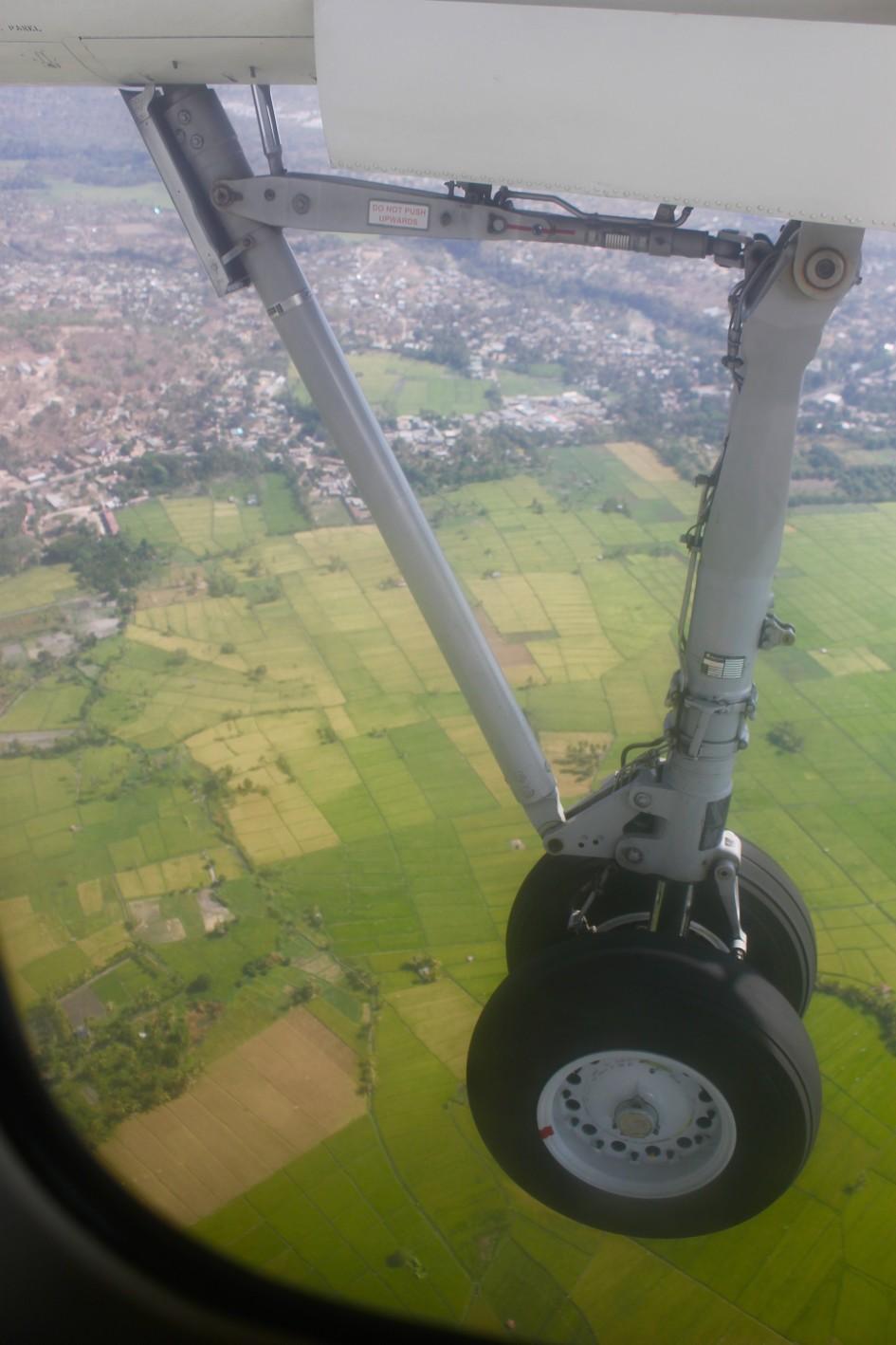 Landing in Kupang