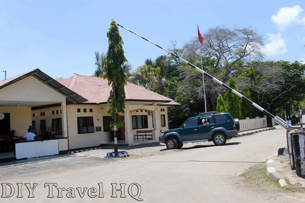 Indonesia East Timor Checkpoint
