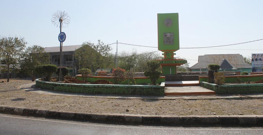Roundabout in Kupang