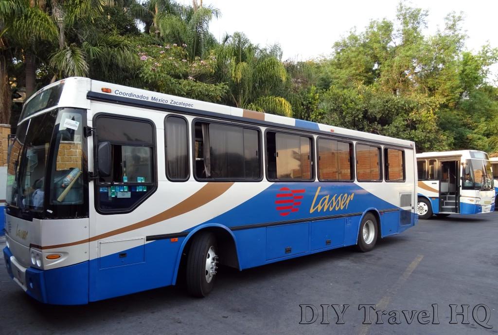 Lasser Bus From Cuernavaca to Xochicalco