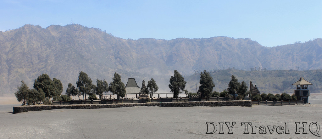 Visit a Hindu temple at Mount Bromo