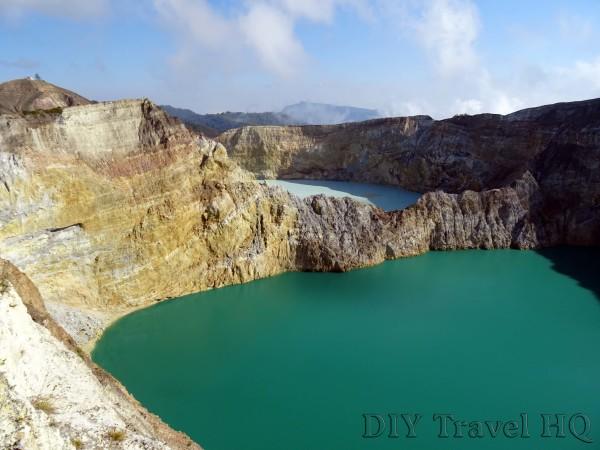 Mt Kelimutu Crater Lakes