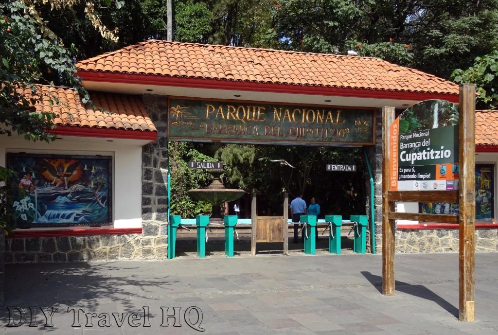 Parque Nacional Barranca Del Cupatitzio Entrance