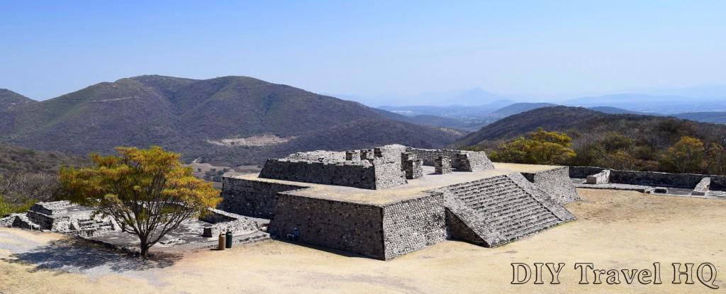 Pyramid Ruins at Xochicalco