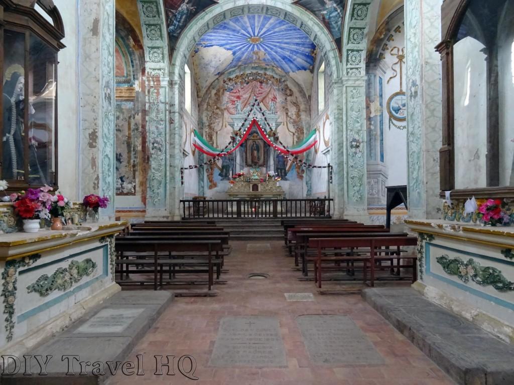 Real de Catorce Capilla de Guadalupe Grave Stones